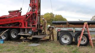 Test Hole Drilling, Part 1 - Adjacent to Bird Creek, Osage County, Oklahoma