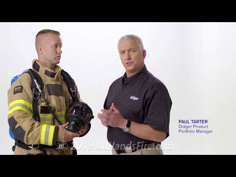 Draeger Up! New Draeger NFPA-certified Self-Contained Breathing Apparatus SCBA From AllHandsFire