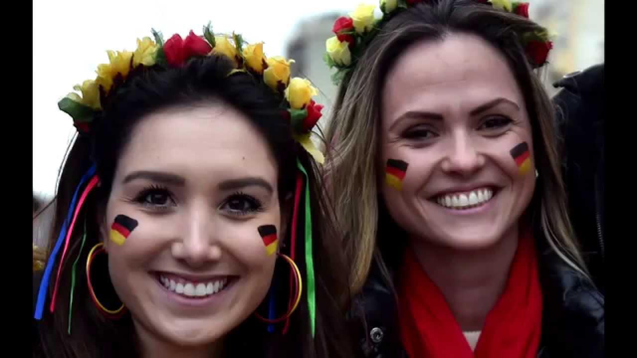 Die heissesten Fans der Fussball WM 2014 in vier Minuten