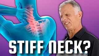 """7 """"60 Second"""" Stretches to Cure a Stiff Neck NOW-Pain Relief Exercises"""