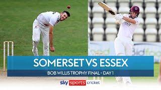 LIVE! Somerset vs Essex | Bob Willis Trophy Final | Day 1