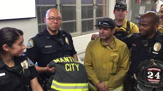 Feel Good Story of the Year: SBPD Returns Stolen Fire Gear to Hero Firefighters