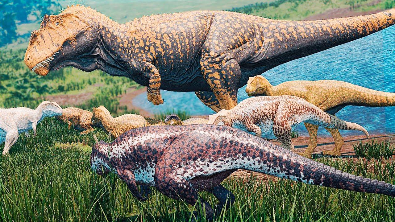 Download Migração dos Giganotossauros + Mega Família! Caçando o Sauropode (#2) | The Isle Realismo | (PT/BR)