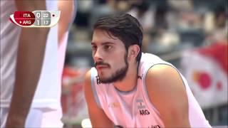Luciano Zornetta - shortest volleyball wing spiker. (182cm)