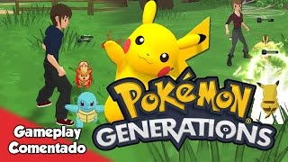 POKÉMON GENERATIONS | Captura y combates en este ambicioso fan game cancelado [Gameplay comentado]