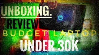 DON'T BUY A LAPTOP BEFORE WATCHING THIS VIDEO !UNBOXING ! REVIEW ! HP-15-da0296TU !WINDOWS INTALL!
