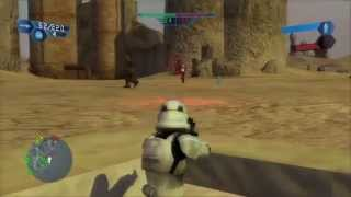 Star Wars Battlefront: GCW Historical Campaign: Mission 1: Desert Extermination - Hard Difficulty