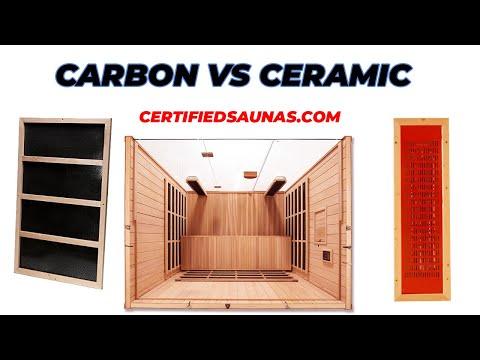 Which Sauna Heater Is Best? Carbon Or Ceramic Infrared Sauna Emitters For Best Emissivity