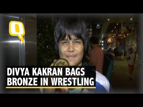 Wrestler Divya Kakran on Her Asian Games Bronze | The Quint