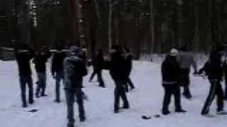 Локо vs. Спартак (зимний лес)