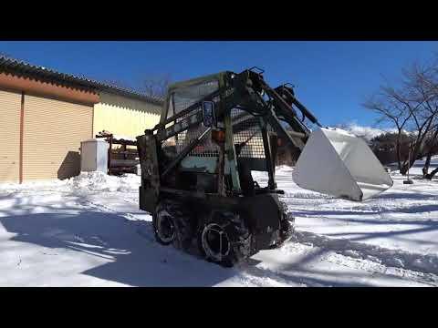 ジョブサンで除雪操作方法と操縦の注意点も解説