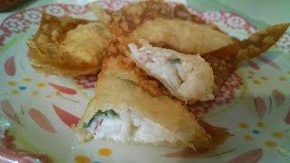 How to Make Crab Rangoon