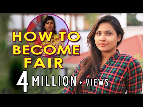 How to Become Fair / Skin Care Routine by Myna Nandhini / 2018 India