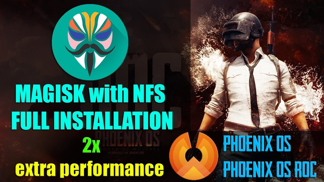 Phoenix OS 2x Increase Performance For PUBG Mobile With NFS Injector Tool