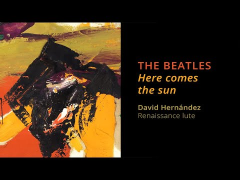 THE BEATLES: Here comes the sun (Renaissance lute) | Live recording