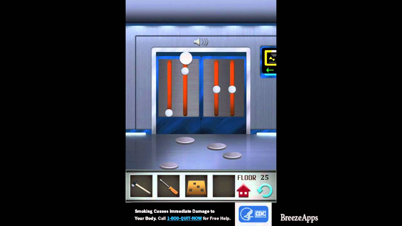 100 floors level 25 walkthrough 100 floors solution floor