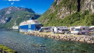 Reisebericht Geiranger Camping (Norwegen) Juni 2018