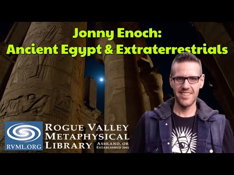 RVML Presents: Jonny Enoch - Were There ET's in Ancient Egypt?