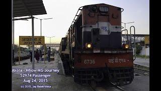 Akola - Mhow Meter Gauge Journey