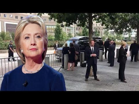 Hillary Clinton Faints While Waiting Transport To New York Hosptial