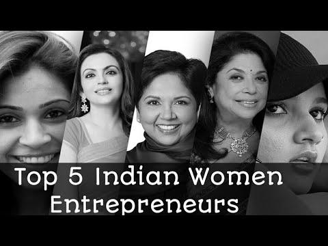 Top 5 Indian Women Entrepreneurs || Successful Women Entrepreneurs 2018 in (Hindi)