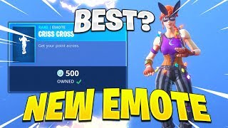 New CRISS CROSS EMOTE in Fortnite! - New Fortnite Item Shop Live November 2nd! (ROSA & DANTE SKINS)