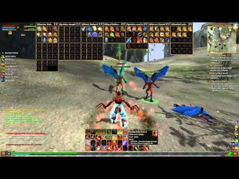 My eq2 Freeblood with freeblood items and mount - YouTube