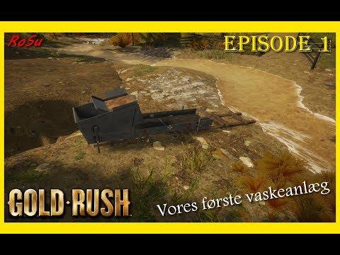 Gold Rush the game | Vores første vaskeanlæg | episode 1 [Dansk]