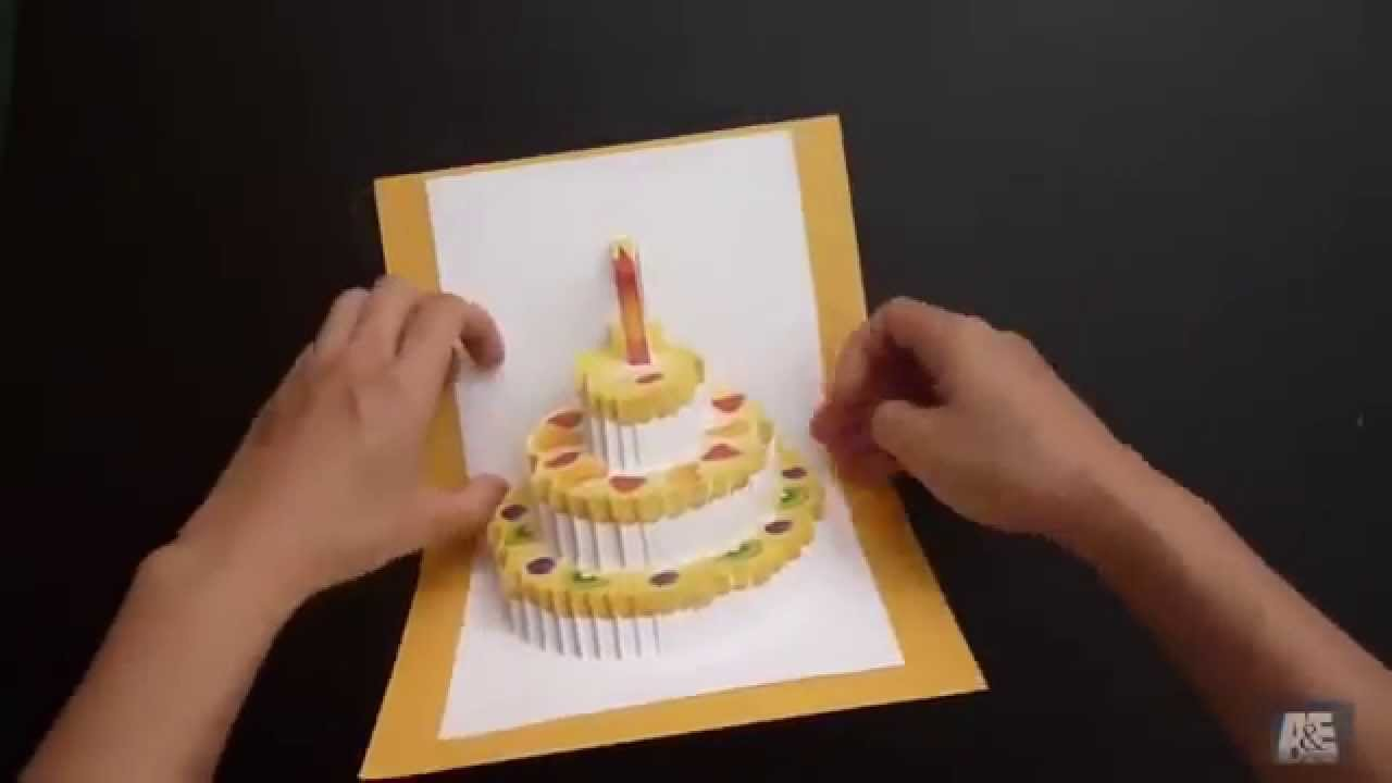 How To Make Beautiful Handmade Birthday Card Youtube