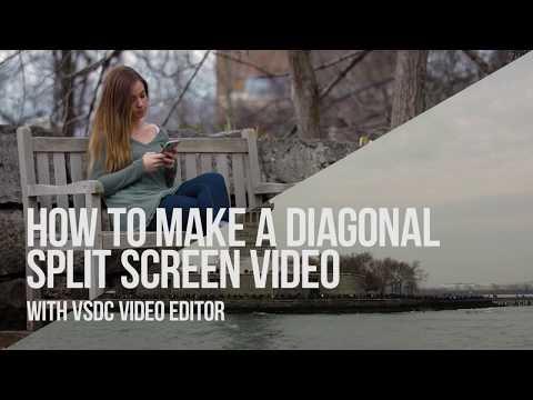 how to create a split screen website