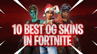 10 BEST RARE OG SKINS In FORTNITE! (Du hast diese Skins nicht!)