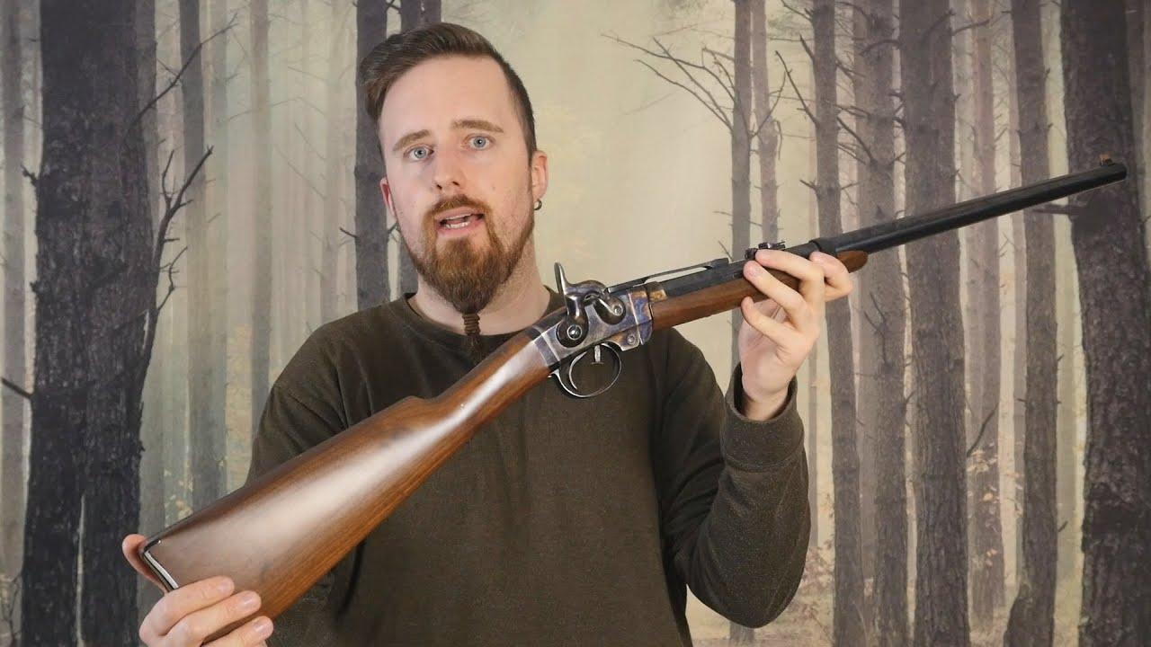 Got myself an odd civil war rifle, a Smith Carbine (reproduction)