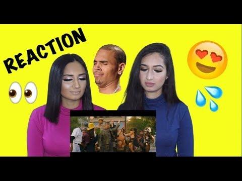 Chris Brown  Tempo   Official Music Video Reaction   Alia & Zeeba TV