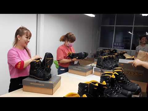  QC .kiểm phẩm công Ty tnhh giày hân xương vn