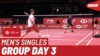 Group A | MS | Anders ANTONSEN (DEN) vs. WANG Tzu Wei (TPE) | BWF 2019
