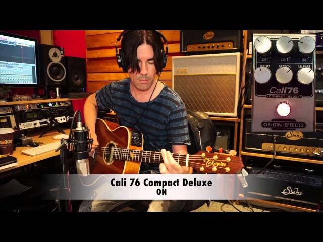 Origin Effects COMPACT COMPRESSORS demo by Pete Thorn