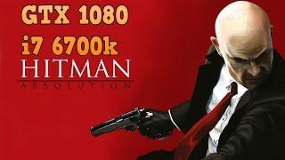 Hitman Absolution | GTX 1080 & i7 6700k | 1080p, 1440p & 2160p | MSAA 8x & Off