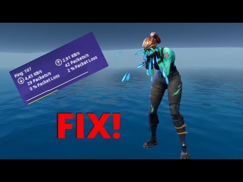 Reduce Ping And Packet Loss Fortnite Chapter 2 Season 2