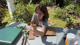 Curiosity Kids: Making A Nature Journal