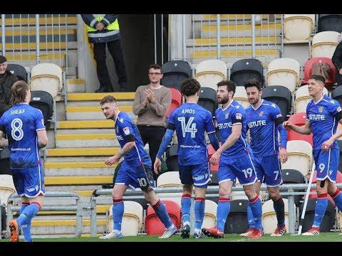 HD HIGHLIGHTS   Newport 0-1 Stevenage   League Two 2017/2018