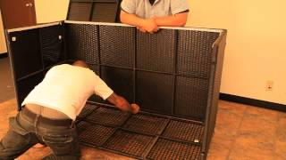 How To Build A Noble House Outdoor Storage Ottoman