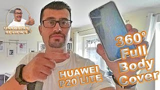 HUAWEI P20 LITE FULL BODY COVER  / REVIEW / UNBOXING / GERMAN (360° COVER) .::Ⓒ::.