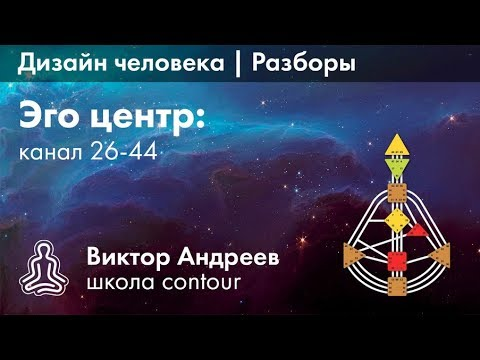 ЭГО ЦЕНТР И КАНАЛ 26-44 В ДИЗАЙНЕ ЧЕЛОВЕКА ► Астродизайн