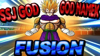 ROBLOX Dragon Ball Z Final Stand - SSJ God And God Namek Fusion