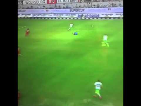 Increible Salvada de Manuel Neuer | wolfsburg vs bayern munich | supercopa de alemania
