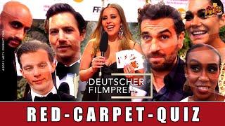 Deutscher Filmpreis 2021 - Special | Promi-Quiz