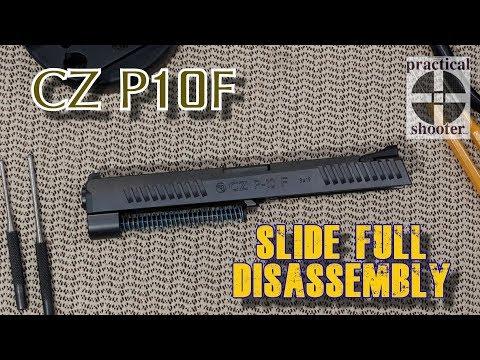 CZ P10F / P10C Full Slide Disassembly