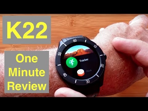 No.1 K22 Basic Android Smartwatch Low Price No Calling: One Minute Overview