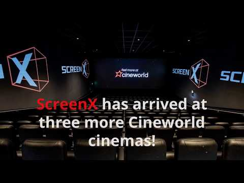 ScreenX Has Arrived In Three More Cineworld Cinemas!