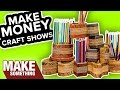 Quick & Easy Pencil Holders That You Can Sell | Craft Show Woodworking Project